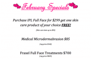 skin and laser specials in kansas city