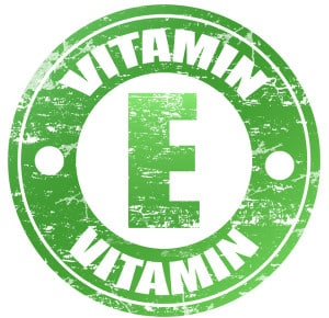 Vitamin E label