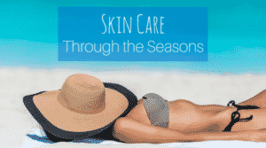 Skin Care Through the Seasons - Woman Sunbathing